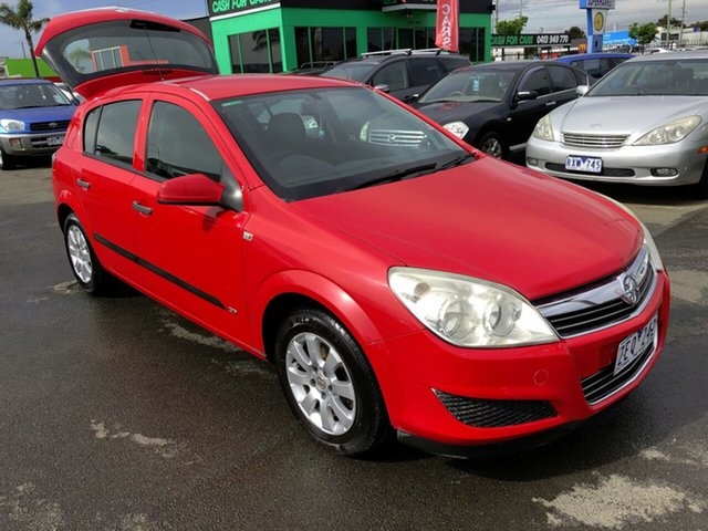 Used Holden Astra AH MY07 CD Cheltenham, 2007 Holden Astra AH MY07 CD Red 5 Speed Manual Hatchback
