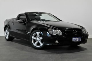 2005 Mercedes-Benz SL-Class R230 MY05 SL350 Black 5 Speed Sports Automatic Roadster.