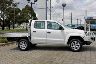 2016 Volkswagen Amarok 2H MY16 TDI420 4MOTION Perm Core Plus White 8 Speed Automatic Utility.