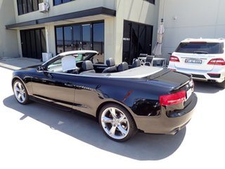2011 Audi A5 8T MY11 Multitronic Black Magic 8 Speed Constant Variable Cabriolet