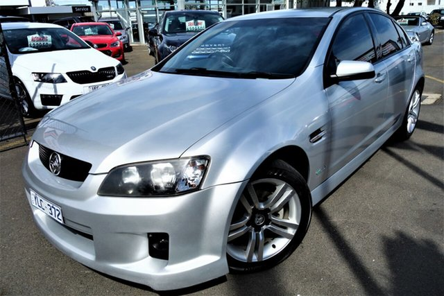 Used Holden Commodore VE MY09.5 SV6, 2009 Holden Commodore VE MY09.5 SV6 Silver 5 Speed Sports Automatic Sedan