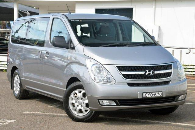 Used Hyundai iMAX TQ-W MY15 North Gosford, 2014 Hyundai iMAX TQ-W MY15 Silver 5 Speed Automatic Wagon