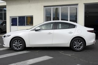 2020 Mazda 3 BP2S7A G20 SKYACTIV-Drive Touring Snowflake White Pearl 6 Speed Sports Automatic Sedan