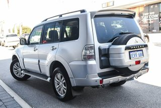 2013 Mitsubishi Pajero NW MY13 Exceed Silver 5 Speed Sports Automatic Wagon.