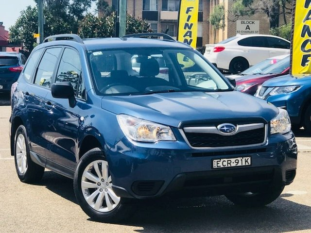 Used Subaru Forester S4 MY13 2.5i Lineartronic AWD, 2013 Subaru Forester S4 MY13 2.5i Lineartronic AWD Blue 6 Speed Constant Variable Wagon