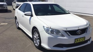 2017 Toyota Aurion GSV50R AT-X Diamond White 6 Speed Sports Automatic Sedan.