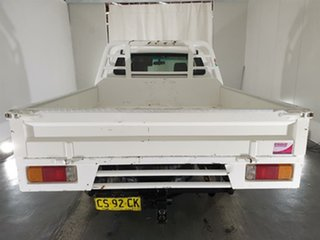 2008 Toyota Hilux KUN26R MY08 SR Xtra Cab White 5 Speed Manual Cab Chassis