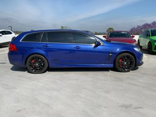 2016 Holden Commodore VF II MY16 SS V Sportwagon Redline Blue 6 Speed Sports Automatic Wagon.