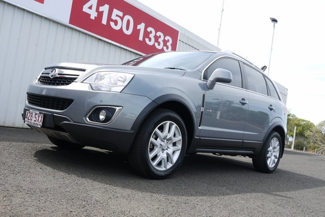Used Holden Captiva CG Series II MY12 5, 2012 Holden Captiva CG Series II MY12 5 Grey 6 Speed Sports Automatic Wagon