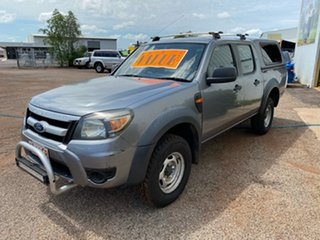 2009 Ford Ranger PJ XLT Crew Cab Grey 5 Speed Manual Double Cab Pick Up