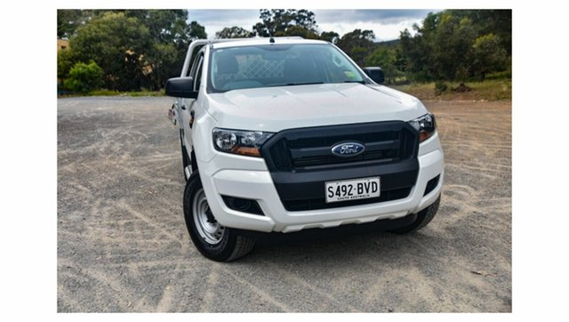 Used Ford Ranger PX MkII 2018.00MY XL, 2018 Ford Ranger PX MkII 2018.00MY XL White 6 Speed Sports Automatic Cab Chassis