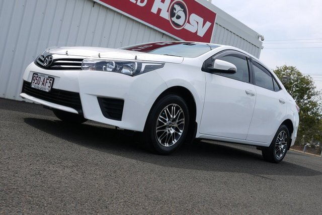 Used Toyota Corolla ZRE172R Ascent S-CVT, 2016 Toyota Corolla ZRE172R Ascent S-CVT White 7 Speed Constant Variable Sedan