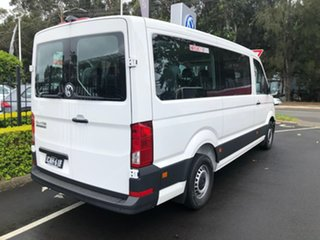 2020 Volkswagen Crafter SY1 MY20 Minibus MWB FWD TDI410 White 8 Speed Automatic Bus.