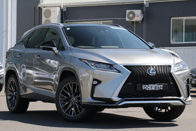 Used Lexus RX GGL25R RX350 F Sport, 2015 Lexus RX GGL25R RX350 F Sport Metallic Bronze Gold 8 Speed Sports Automatic Wagon
