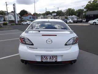2011 Mazda 6 GH1052 MY10 Luxury Sports White 6 Speed Manual Hatchback