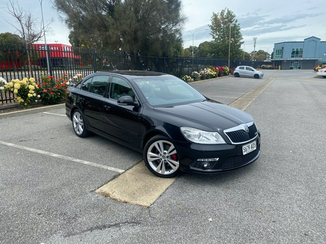 Used Skoda Octavia 1Z MY11 RS 147TSI Mile End, 2011 Skoda Octavia 1Z MY11 RS 147TSI Black 6 Speed Manual Liftback