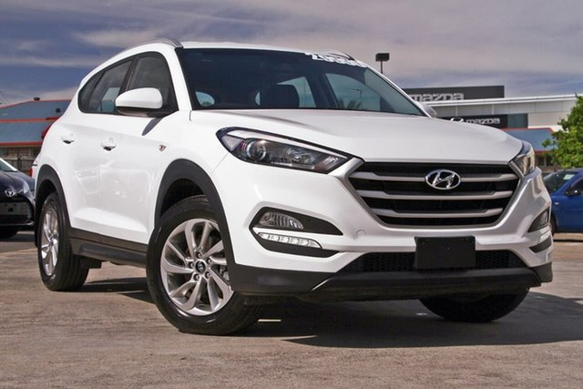 Used Hyundai Tucson TL2 MY18 Active AWD, 2018 Hyundai Tucson TL2 MY18 Active AWD White 6 Speed Sports Automatic Wagon