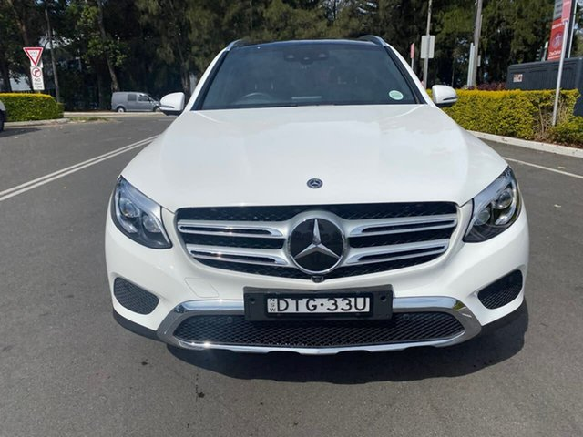Used Mercedes-Benz GLC-Class C253 808MY GLC250 Coupe 9G-Tronic 4MATIC, 2018 Mercedes-Benz GLC-Class C253 808MY GLC250 Coupe 9G-Tronic 4MATIC White 9 Speed Sports Automatic
