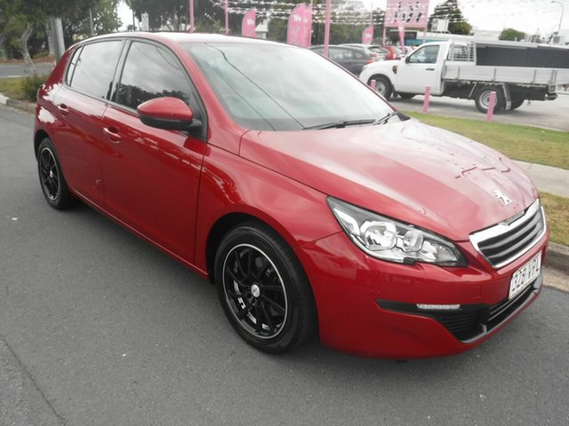 Used Peugeot 308 T9 Access Margate, 2014 Peugeot 308 T9 Access Red 6 Speed Manual Hatchback