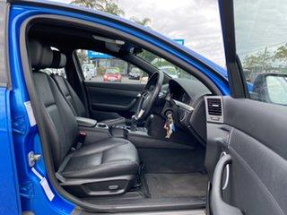 2008 Holden Commodore VE MY09 SV6 Blue 6 Speed Manual Sedan