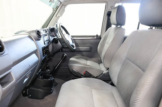 2012 Toyota Landcruiser VDJ76R MY10 GXL Grey 5 Speed Manual Wagon