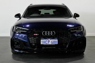 2018 Audi RS4 B9 8W MY18 Avant Quattro Blue 8 Speed Sports Automatic Wagon.