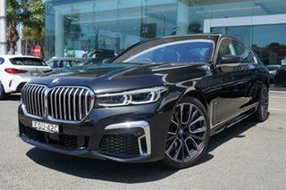 2020 BMW 740i G11 M Sport Black Sapphire 8 Speed Auto Steptronic Sport Sedan.