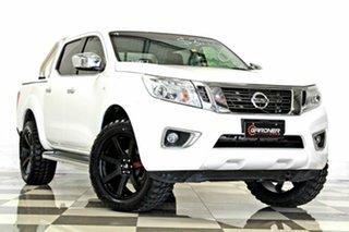 2016 Nissan Navara D23 Series II ST (4x4) White 7 Speed Automatic Dual Cab Utility.