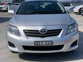 2008 Toyota Corolla ZRE152R Ascent Silver 4 Speed Automatic Sedan