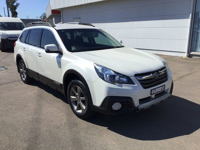 Used Subaru Outback B5A MY13 2.5i Lineartronic AWD, 2013 Subaru Outback B5A MY13 2.5i Lineartronic AWD White 6 Speed Constant Variable Wagon