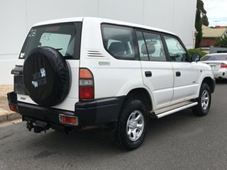1998 Toyota Landcruiser Prado RZJ95R RV White 5 Speed Manual Wagon