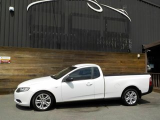 2009 Ford Falcon FG Ute Super Cab White 4 Speed Sports Automatic Utility