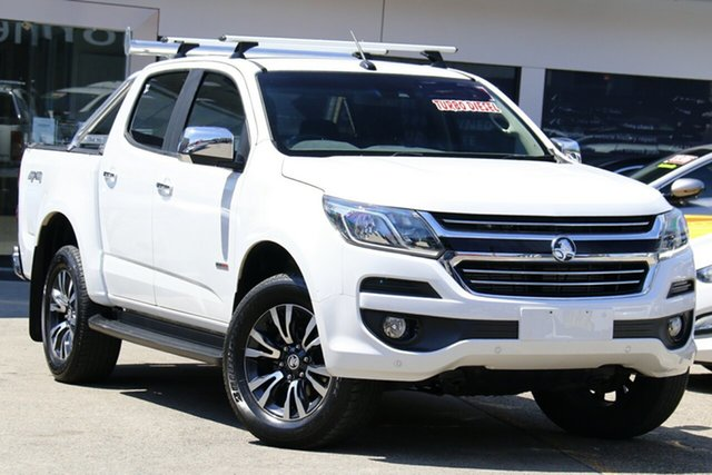 Used Holden Colorado RG MY19 LTZ (4x4) (5Yr), 2018 Holden Colorado RG MY19 LTZ (4x4) (5Yr) White 6 Speed Automatic Crew Cab Pickup