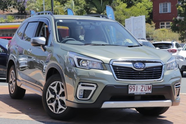 Demo Subaru Forester S5 MY20 Hybrid L CVT AWD, 2020 Subaru Forester S5 MY20 Hybrid L CVT AWD Jasper Green Metallic 7 Speed Constant Variable Wagon
