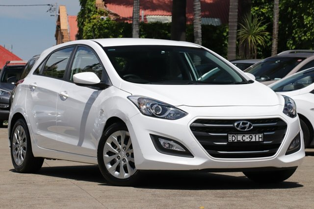 Pre-Owned Hyundai i30 GD4 Series II MY17 Active Mosman, 2016 Hyundai i30 GD4 Series II MY17 Active 6 Speed Sports Automatic Hatchback