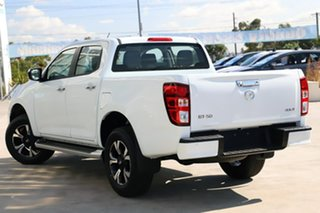 2020 Mazda BT-50 B30B XTR (4x4) Ice White 6 Speed Manual Dual Cab Pick-up.