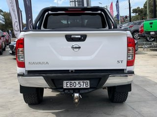 2018 Nissan Navara D23 S3 ST Black Edition White 7 Speed Sports Automatic Utility