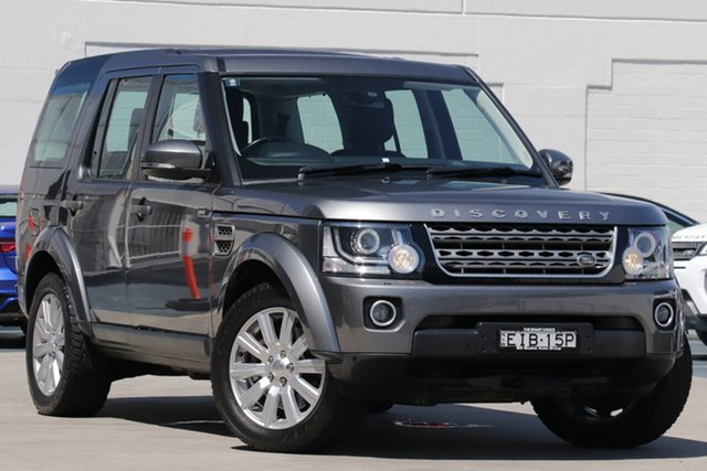 Used Land Rover Discovery Series 4 L319 MY14 TDV6, 2014 Land Rover Discovery Series 4 L319 MY14 TDV6 Grey 8 Speed Sports Automatic Wagon
