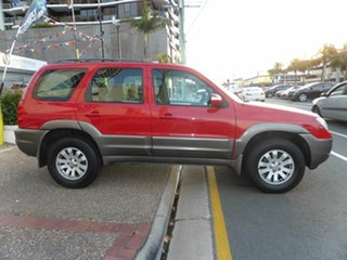 2007 Mazda Tribute MY06 V6 Red 4 Speed Automatic Wagon