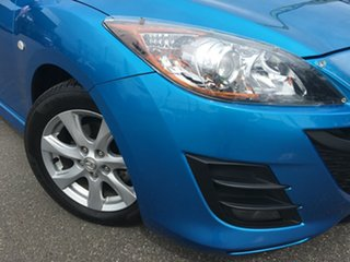 2011 Mazda 3 BL10F1 MY10 Maxx Sport Blue 6 Speed Manual Hatchback.