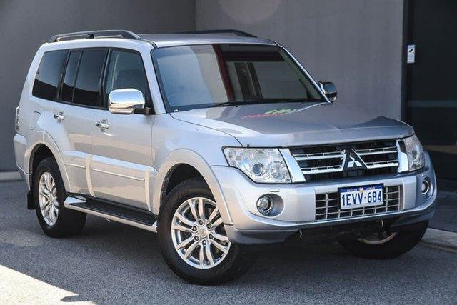 Used Mitsubishi Pajero NW MY13 Exceed, 2013 Mitsubishi Pajero NW MY13 Exceed Silver 5 Speed Sports Automatic Wagon