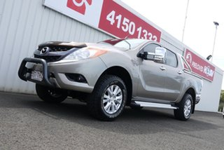 2013 Mazda BT-50 UP0YF1 XTR Gold 6 Speed Sports Automatic Utility.