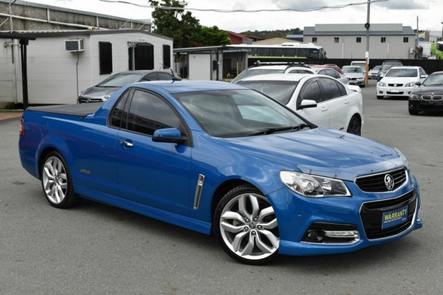Used Holden Ute VF SS-V Underwood, 2013 Holden Ute VF SS-V Blue 6 Speed Manual Utility