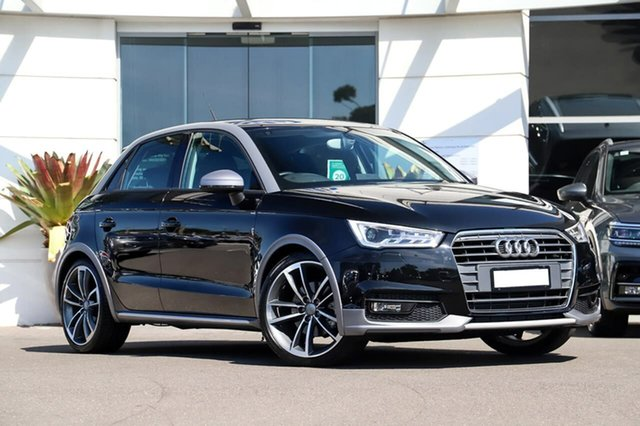 Used Audi A1 8X MY18 Sportback S Tronic Sutherland, 2018 Audi A1 8X MY18 Sportback S Tronic Black 7 Speed Sports Automatic Dual Clutch Hatchback