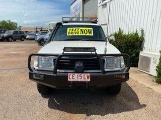 2000 Toyota Landcruiser HZJ105R RV White 5 Speed Manual Wagon.