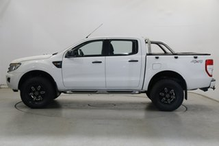 2013 Ford Ranger PX XL Cool White 6 Speed Manual Utility.