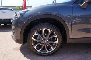 2016 Mazda CX-5 MY15 GT (4x4) Grey 6 Speed Automatic Wagon.