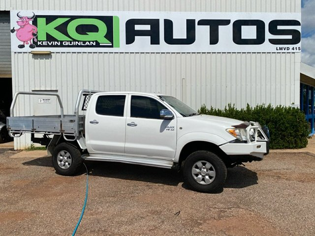 Used Toyota Hilux GGN25R MY05 SR5, 2005 Toyota Hilux GGN25R MY05 SR5 White 5 Speed Manual Utility