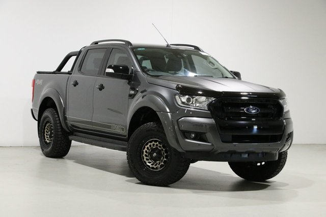 Used Ford Ranger PX MkII MY18 FX4 Special Edition, 2018 Ford Ranger PX MkII MY18 FX4 Special Edition Graphite 6 Speed Automatic Double Cab Pick Up