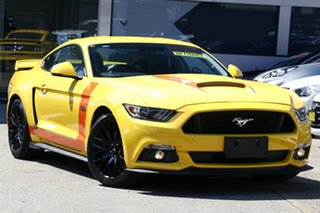 2017 Ford Mustang FM MY17 Fastback 2.3 GTDi Yellow 6 Speed Manual Coupe.
